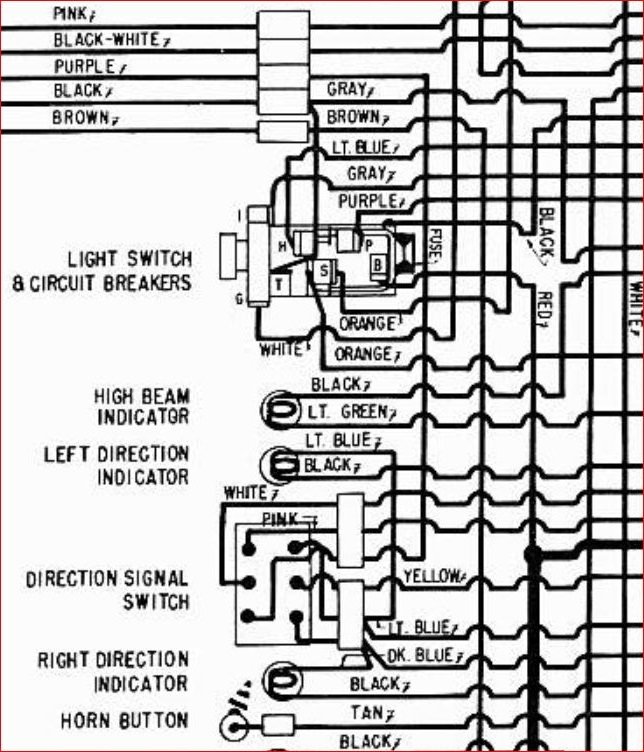 1957 Chevy Headlight Switch Wiring Diagram