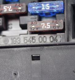 2005 chrysler crossfire srt6 headlight fog light switch fuse box a1935450004 [ 1600 x 1066 Pixel ]