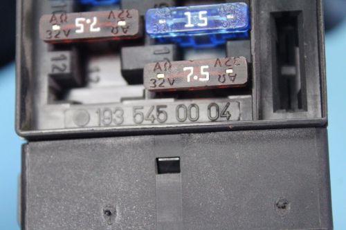 small resolution of 2005 chrysler crossfire srt6 headlight fog light switch fuse box a1935450004