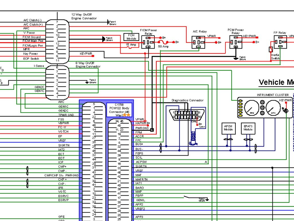 hight resolution of 6 0 ficm wire harness 21 wiring diagram images wiring air conditioner schematic wiring diagram ford f 250 wiring diagram