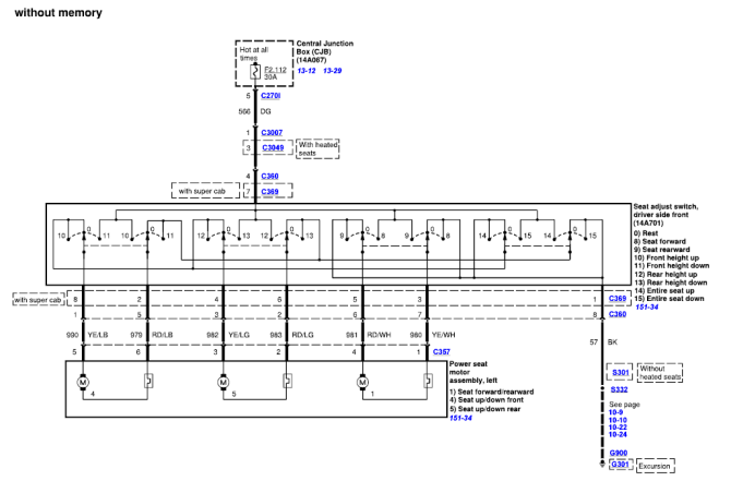 ford f250 seat wiring diagram chevy western unimount snow