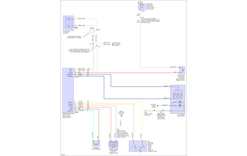 medium resolution of there are also 6 pages for the pcm ecu they are as follows these are all for the 4 6l engine