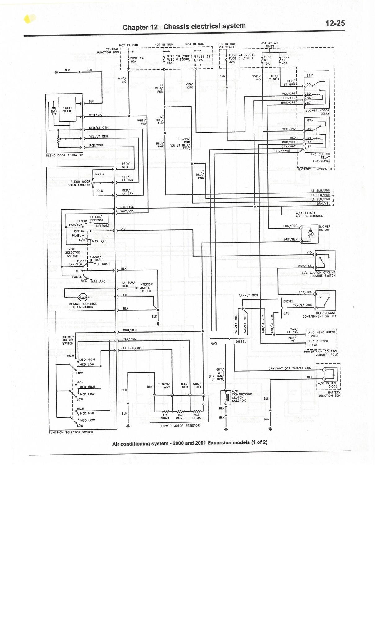 Wiring Diagram For Power Window Harness On A 2002 Ford