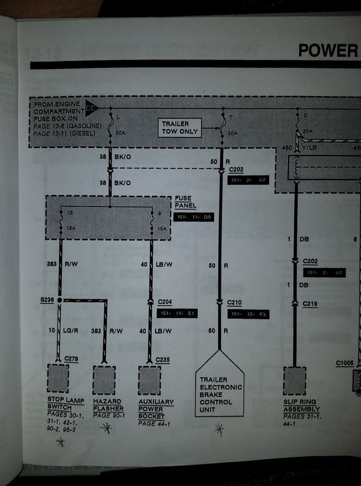 Radio Wiring Diagram 1996 Ford F250
