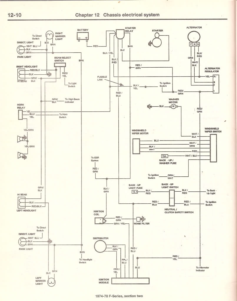 Ford Headlight Switch Wiring Diagram : headlight, switch, wiring, diagram, Headlight, Wiring, Diagram, Truck, Enthusiasts, Forums