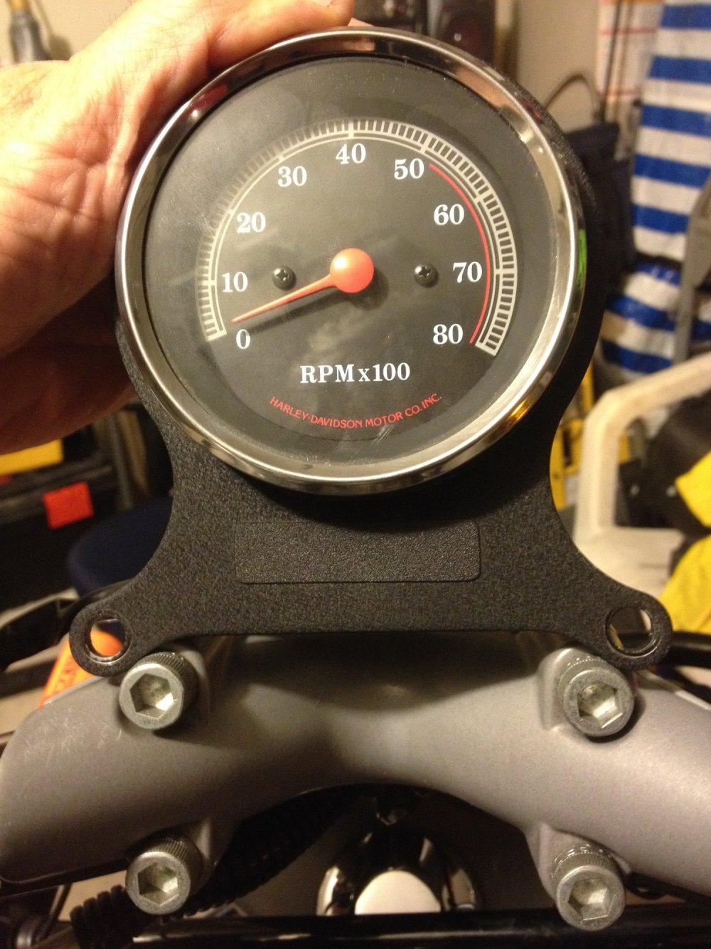 medium resolution of tachometer install harley davidson forums harley tachometer wiring