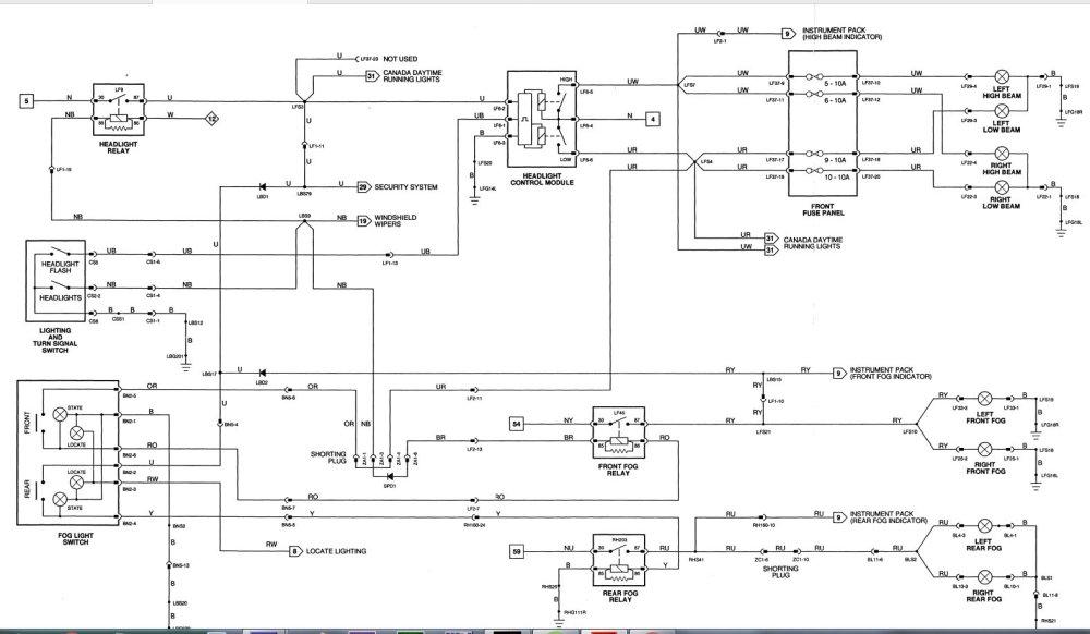 medium resolution of fog light relay