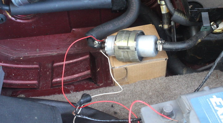 Mercrusier 43 Electrical Problem Ignition Fuse Fuel Pump Page 1