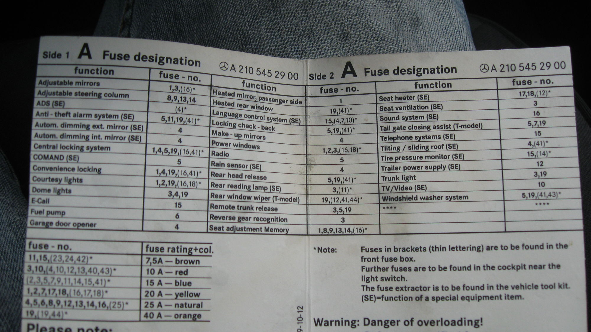 hight resolution of fyi w210 fuse cards mbworld org forums 2003 mercedes c320 relay diagram 2004 mercedes c320 fuse