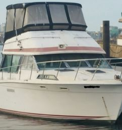 new member asking about 1978 bayliner 3550 bristol the hull truth on gm 5 7 engine  [ 1359 x 1025 Pixel ]