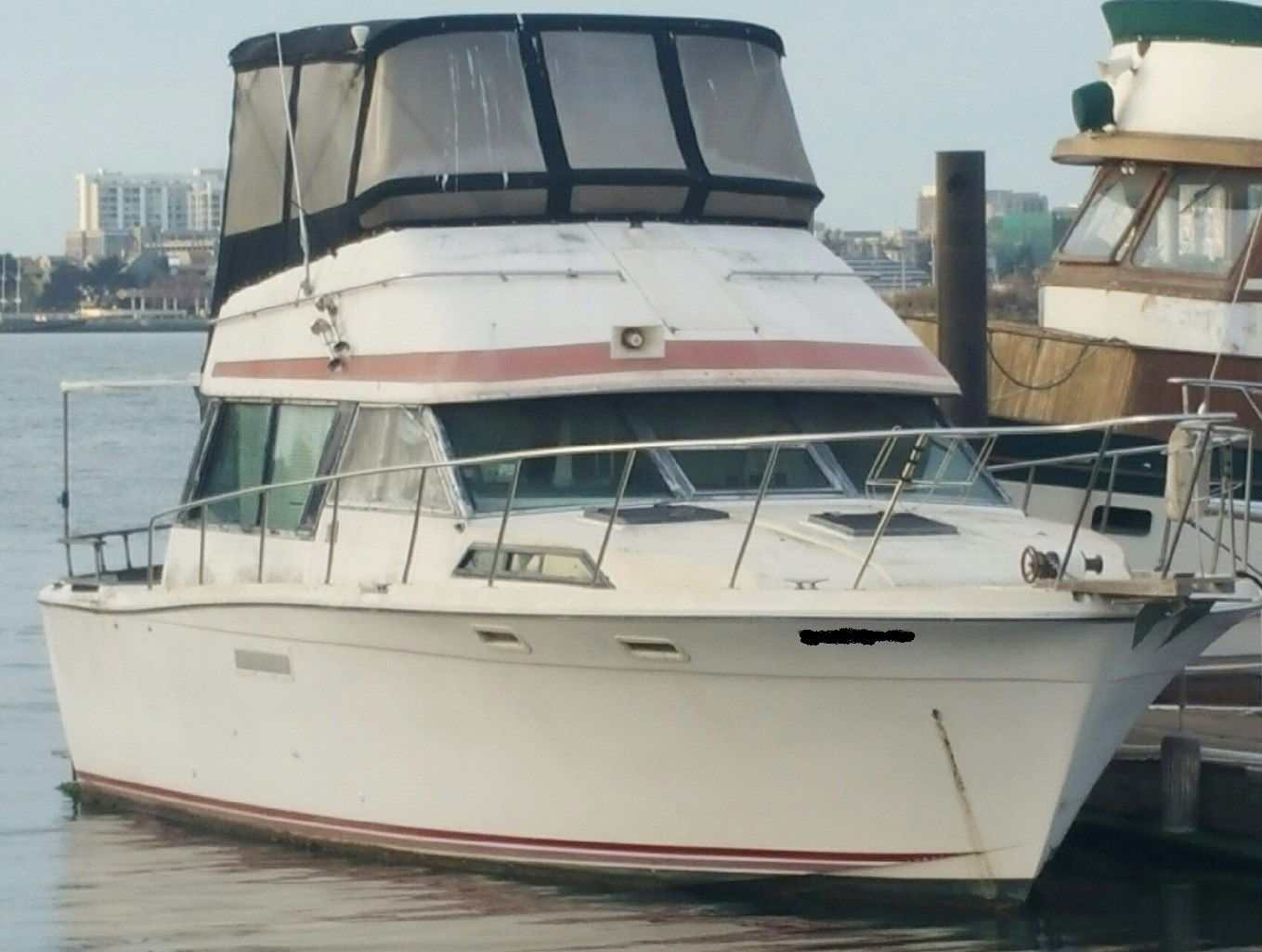 hight resolution of  new member asking about 1978 bayliner 3550 bristol the hull truth on gm 5 7 engine