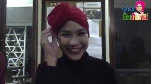Tutorial Hijab Pashmina Turban Simple
