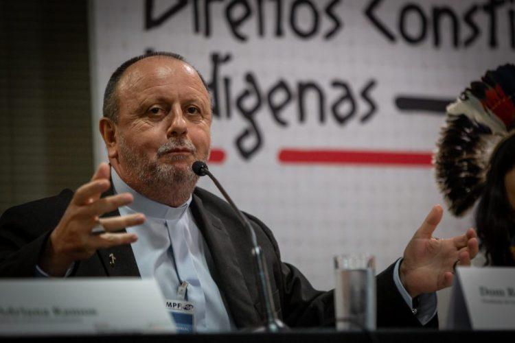 Dom Roque Paloschi, presidente do Cimi, destacou as invasões das terras indígenas nestes primeiros dias do ano. Foto: Tiago Miotto/Cimi