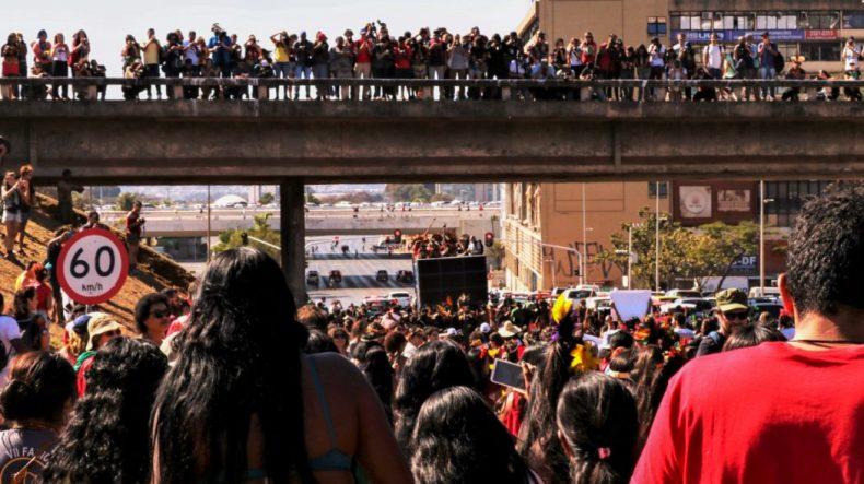 Com ampla divulgação, no dia 14, a Marcha das Mulheres Indígenas se junta à Marcha das Margaridas. Foto: Adi Spezia/Cimi