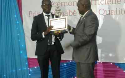 CIMFASO reçoit le prix d'encouragement à l'excellence