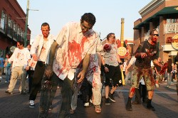 Asymmetric Zombie Warfare