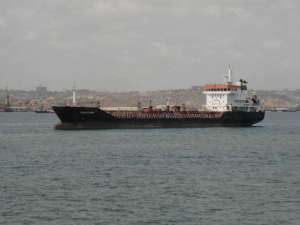 The hijacked Luxembourg-flagged tanker MT Gascogne.