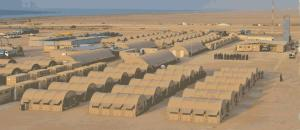 The PMPF base camp in Bosaso, Puntland is the most extensive in the region (Photo: Robert Young Pelton)