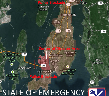 Industrial Accident at Naval War College: RI Declares State of Emergency
