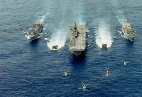 U.S. Marine Corps Amphibious Assault Force (Wikimedia Commons)
