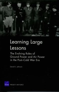 Learning Large Lessons