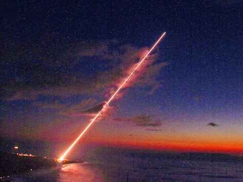 U.S. Army Terminal High Altitude Area Defense (THAAD) Launch (SMDC Photo)