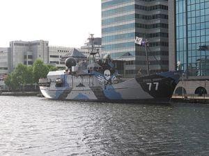 The Sea Shepherd Conservation Society's Steve Irwin
