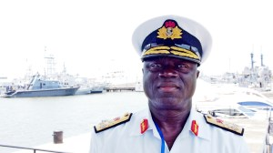 The Nigerian Navy's Chief of Naval Staff, Vice-Admiral Jibrin, is responsible for the Navy' enforcement plan against the use of rogue security force teams aboard merchant ships. (Photo: Alexander Drechsel/Adrian Kriesch)