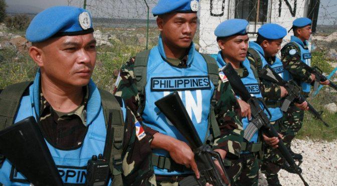 Fluid Alliances and Unexpected Consequences: Philippine UNDOF Crisis