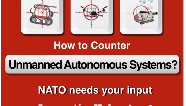 Unmanned Autonomous Systems Countermeasures NATO Workshop