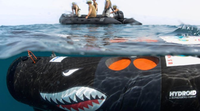 Unmanned Underwater Vehicles: A Conversation with Chris Rawley