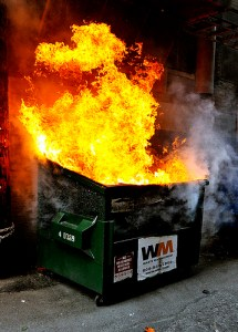 The IQ development committee consists of this dumpster grease fire behind the Chili's.