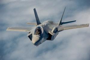 F-35A Lightning II Joint Strike Fighter, USAF Photo.