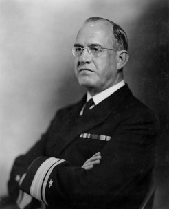 Admiral James O. Richardson. He was relieved in 1941, shortly before the attack on Pearl Harbor.
