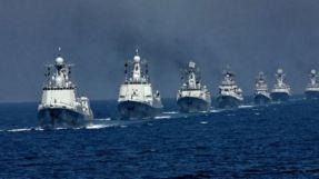 South China Sea fleet vessels.