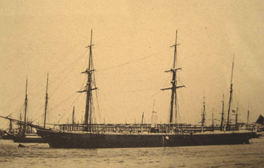 Frigate Santa Lucia, which commanded by Captain Francisco Riquelme conducted the first Spanish survey of Scarborough Shoal (Bajo de Masinloc) in 1800