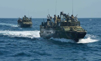 Patrol boats employed by Navy Expeditionary Combat Command.