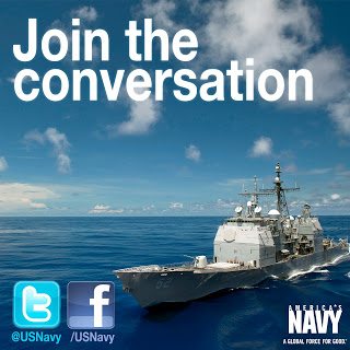 US Navy social media badge