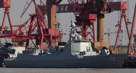 CNS_Kunming, the first of the Type 052D destroyers._(DDG-172) (Photo: 海防先锋)