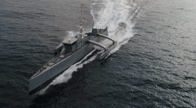 Developing New Tactics and Technologies in Naval Warfare: The MDUSV Example