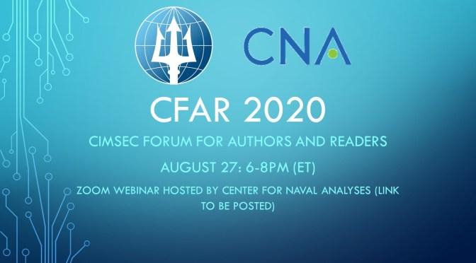 CFAR 2020: Video Replay Now Online!
