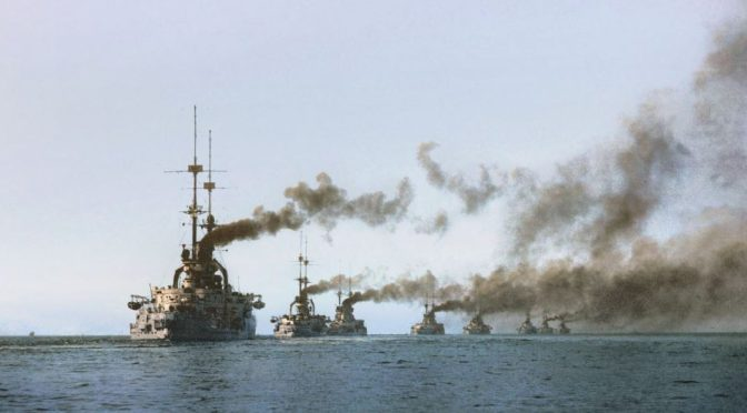 The Tinderbox: Germany's Naval Build-Up, the Great War of 1914, and the Balance of Power
