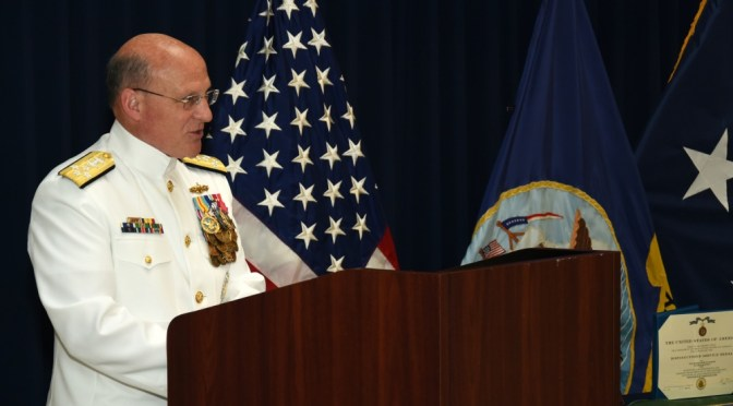 NAVPLAN 2021: A Delayed Change of Command Speech