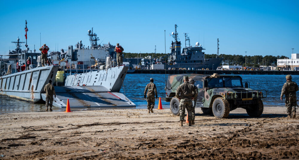 The Future of Sea Basing for U.S. Army Transportation