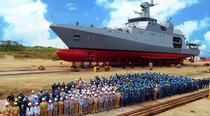 Made in Latin America: Domestically Manufactured Ecuadorian and Peruvian Ships Meet in the Pacific