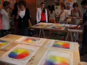 lezione cerchio colori