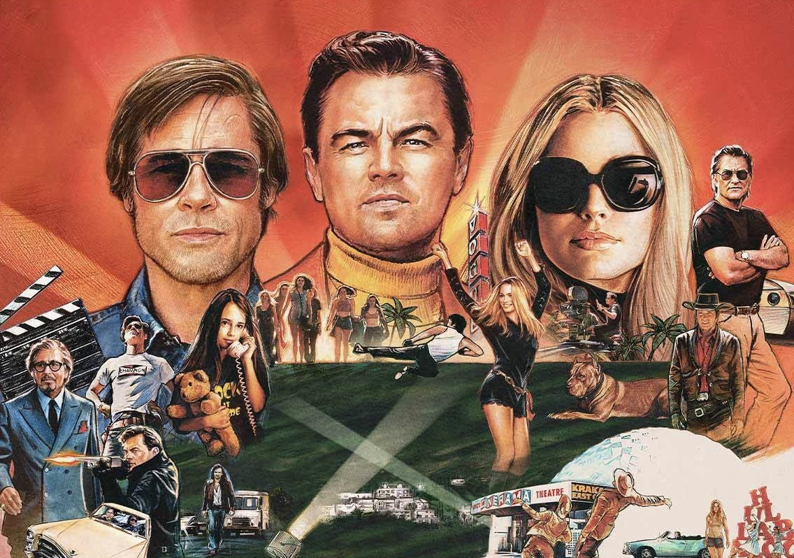 Image result for once upon a time in hollywood wallpaper