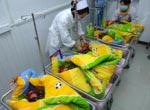 Parti plurigemellari in Cina