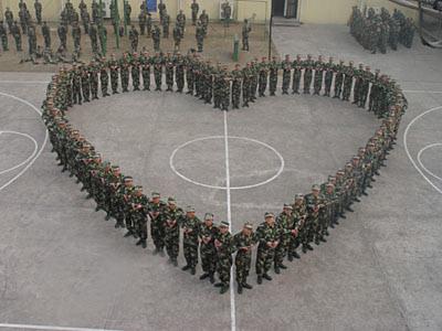 soldati cinesi a san valentino