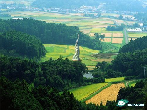 Statua della Libertà in Cina